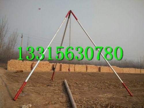 三角铁塔基础施工