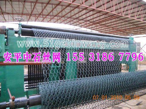 锌铝合金格宾石笼 pvc涂塑格宾石笼 生态护脚宾格网