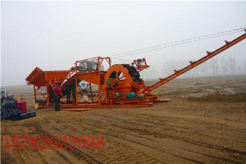 水轮洗沙机 筛沙洗沙生产线 多轮洗沙线