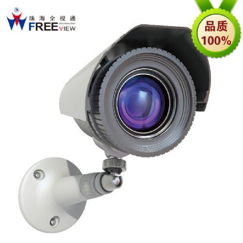 IP摄像机 挂墙式100W像素网络监控感应红外光 楼宇对讲专用摄