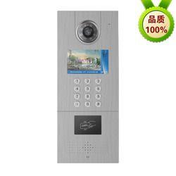 4.3寸液晶屏门禁一体机高清可视视频门禁门口机