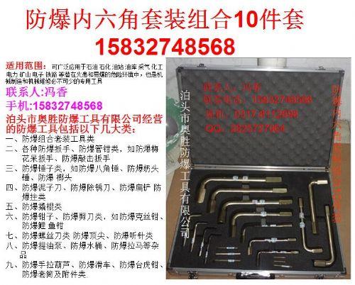 浙江 防爆内六角套装组合10件套 EX-ASZHNJ10