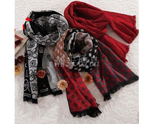 西安礼品定制厂家—羊绒竹围巾