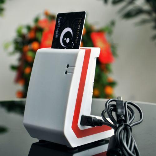 HT接触式医保卡读卡器USB/串口通讯推拨式卡座支持读写逻辑加密