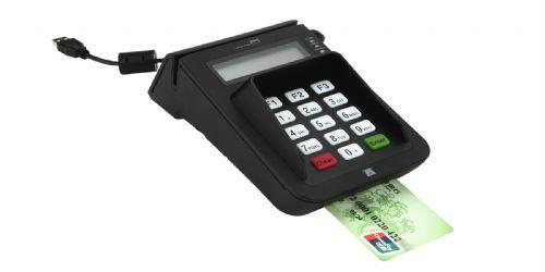 新一代E7会员卡刷卡机,USB无驱带密码键盘,PSAM卡座,LC