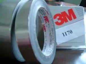供应正品3M1170铝箔胶带 高温铝箔胶带 3M金属箔胶带 锡箔