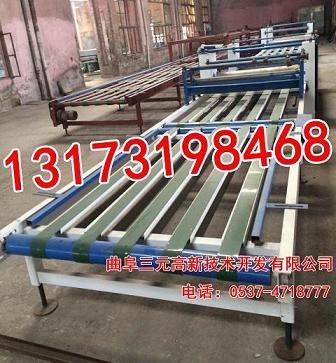 防火板生产流程 曲阜多功能玻镁板制板机价格