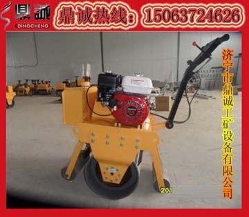 山东发货电启动单钢轮压路机,DC18C单轮柴油压路机
