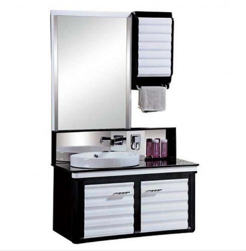 宜居云YJ625 新款PVC防潮板浴室柜 挂墙式含镜组合柜 卫浴
