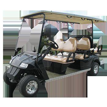 西安电瓶高尔夫车|高尔夫球车|观光看房电动车|西安益高电动高尔夫车