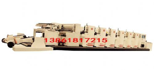 柔版印刷机墙壁纸彩色印刷设备FCI300卷筒料卫星式