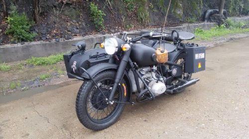 长江750cc边三轮(德国灰精装)