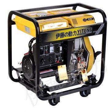 5KW电启动单相柴油发电机