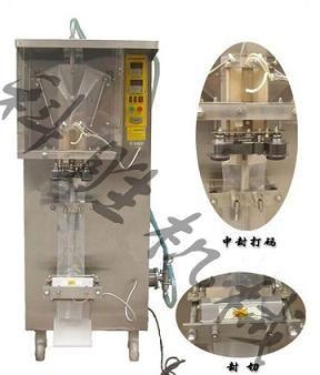保定科胜AS1000型液体自动包装机丨鲜牛奶包装机@河北包装机