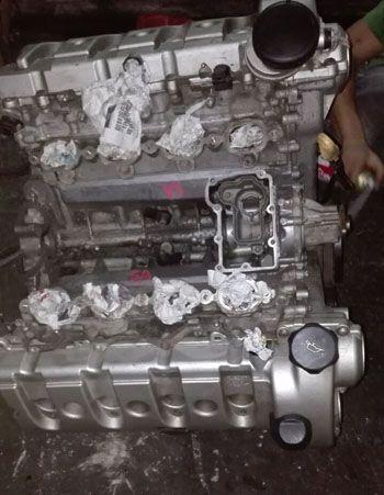 捷豹后打气泵控制电路图