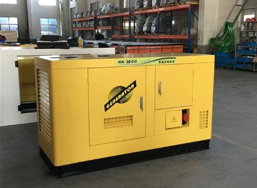 静音30千瓦全自动柴油发电机