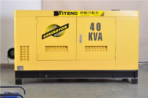 30KW静音厢式柴油发电机