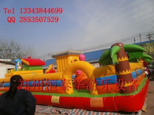 充气蹦蹦床 大型儿童充气城堡  郑州充气城堡