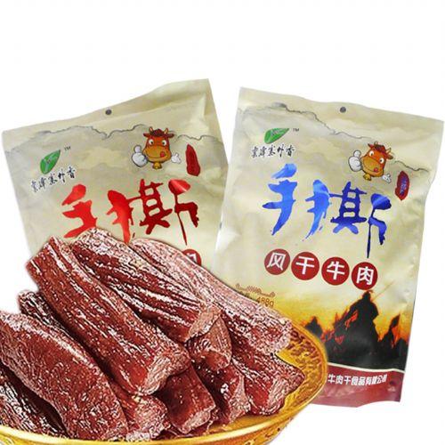 云峰塞外香风干牛肉488g