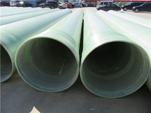 厂家直销玻璃钢缠绕管、夹砂管道、电缆保护管