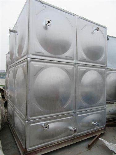 精品展示 玻璃钢储水箱 不锈钢装配式焊接水箱