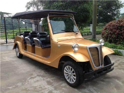 路朗(迎宾款)8座电动老爷车|电动看房车|楼盘售楼车|电动看楼车