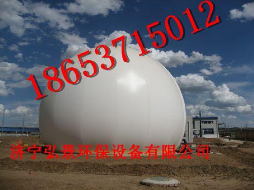 沼气工程必备储气设备双模气柜最佳选择