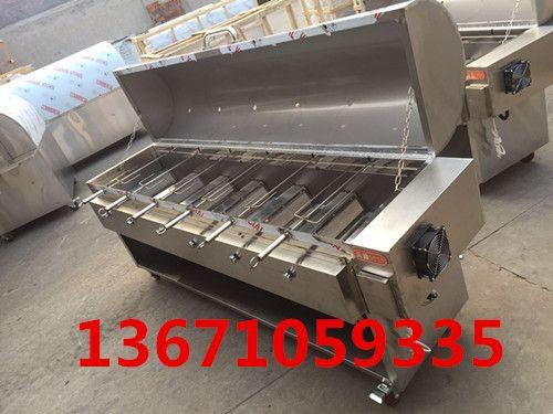 烤全羊挂炉设备|旋转碳烤全羊机|河北木炭烤全羊炉子|燃气卧式烤全