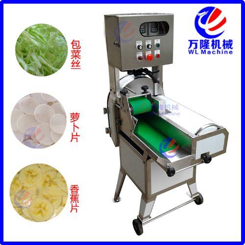中型切菜机 台湾切菜机商用 自动净菜加工切割 叶菜类加工
