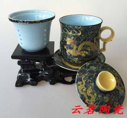景德镇陶瓷办公杯