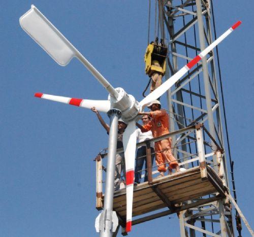 厂家直销民用家用水平直驱FZY-5KW风力发电机