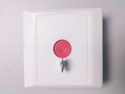 86盒紧急报警按钮批发 楼宇对讲紧急按钮厂家 钥匙复位按钮价格