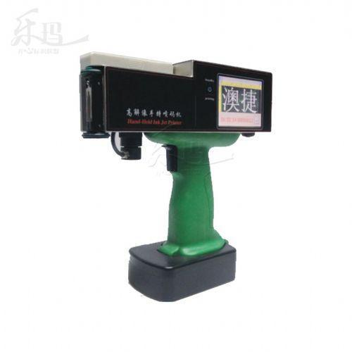 澳捷AJ-3D手持喷码机 咖啡罐 日 批号打码机 触摸屏全方位喷