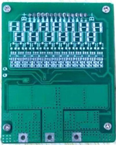 10串锂电池保护板36V雅迪电动自行车锂电池保护板均衡同口16A