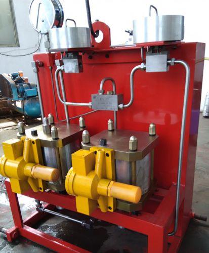 高压电动试压泵 高压气控阀 阀门自动试压泵 油田试压设备