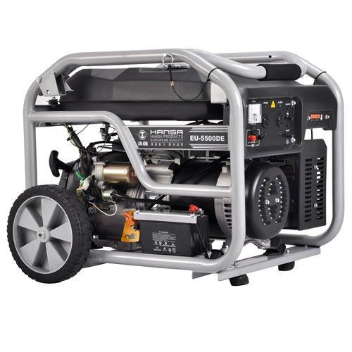 5KW家庭备用汽油发电机