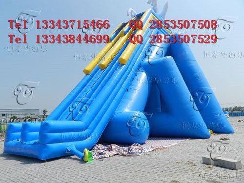 恒泰华游泳池水上滑梯水上充气玩具儿童乐园水池沙池