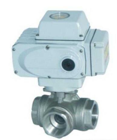 上海乾仪供应电动高压内螺纹三通球阀,Q914F价格