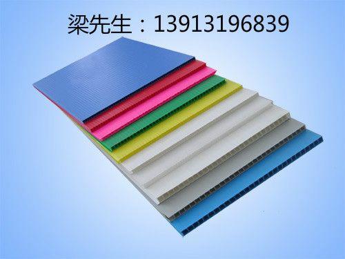 苏州钙塑箱定做 蓝色中空板