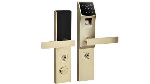 指纹密码锁|防盗门智能电子锁|插芯防盗门锁定制|摩托车电动车锁
