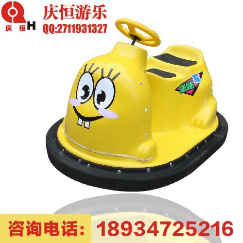 新款儿童电瓶碰碰车双人亲子咪咪车单人电动玩具车广场公园游乐车