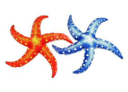 毛绒玩具海星 海洋生物主题定做加工 儿童早教玩具海星