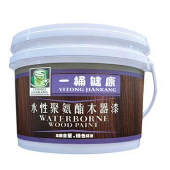 一桶健康水性聚氨酯木器漆清面漆