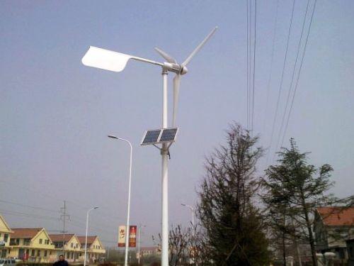 青岛风力发电机组600W风光互补系统