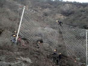 云南被动网型RXI050拦石网厂家