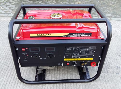 发电电焊两用机汽油250A