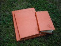 高档商务笔记本真皮 商务拉链笔记本定制 pu笔记本皮套