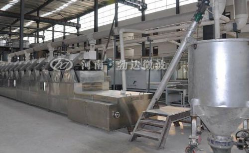 供应河南勃达工业硅微粉干燥设备