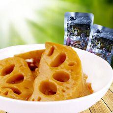 一件代发 湖北特产香辣卤藕片卤藕 美食卤味休闲零食35g*30包