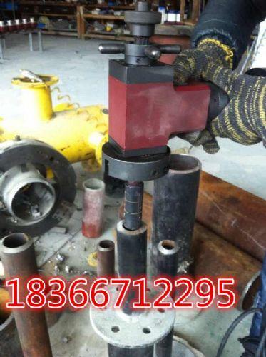 专门为管道做焊接切削前准备管子坡口机